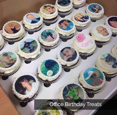 Office birthday treats