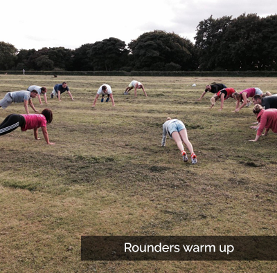 rounders warm up