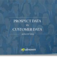 Prospect Data vs Customer Data 2016