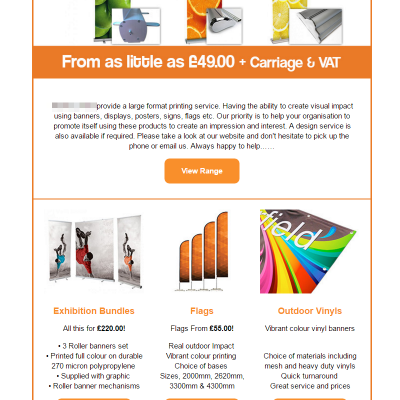 Email Design Service - example 4