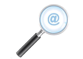 Find missing email addresses
