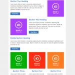 Responsive Email Template 5