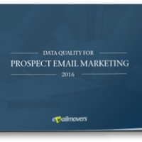 Data Quality For Prospect Email Marketing 2016