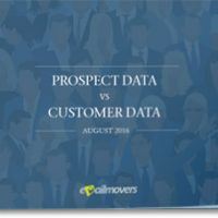 Prospect Data vs Customer Data 2016