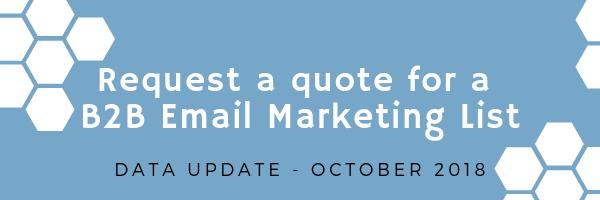B2B Email Marketing List