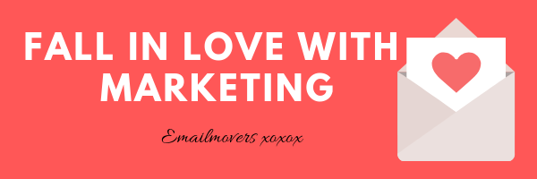 Fall in love with marketing