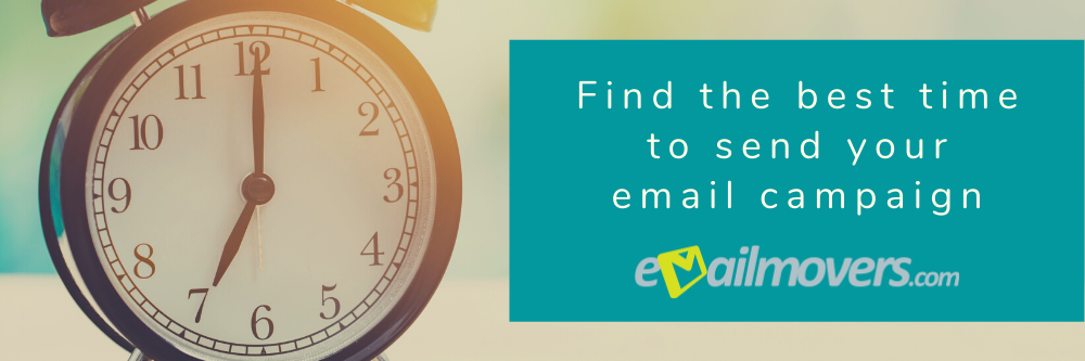The best time to send your email campaign